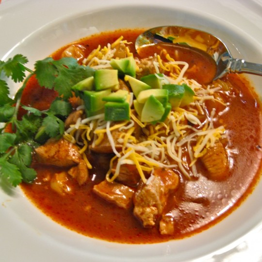 Chicken Fiesta Soup!
