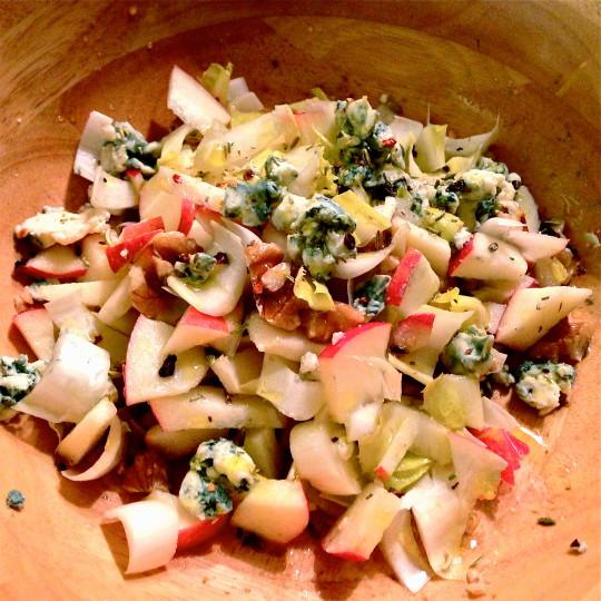 Apple & Endive Salad – Serves 2
