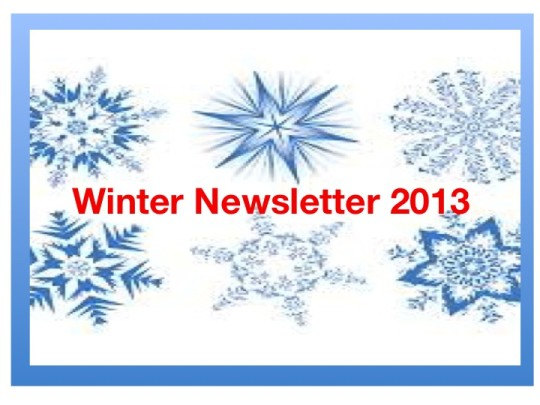 Winter Newsletter – 2013
