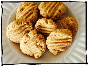 Paleo Peanut Butter Cookies