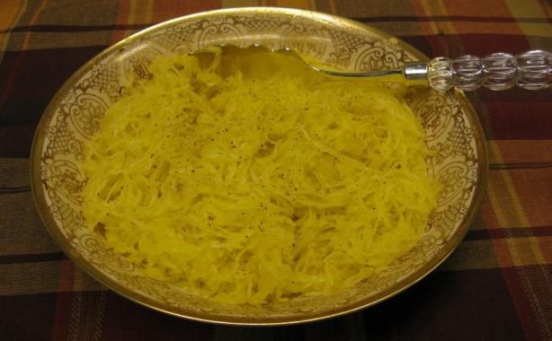 Spaghetti Squash with Nutmeg Drizzle 3